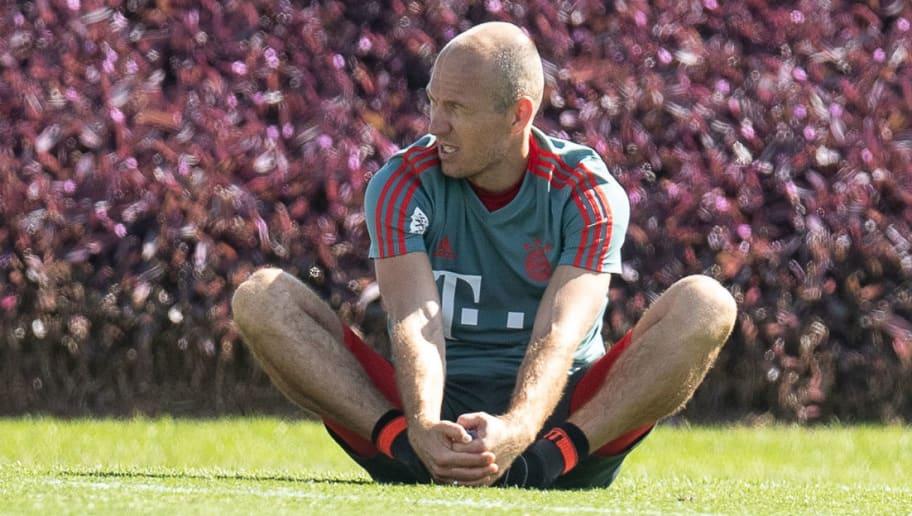 Arjen Robben Verletzt